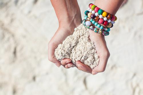 Vegan Sparkles self-love beach
