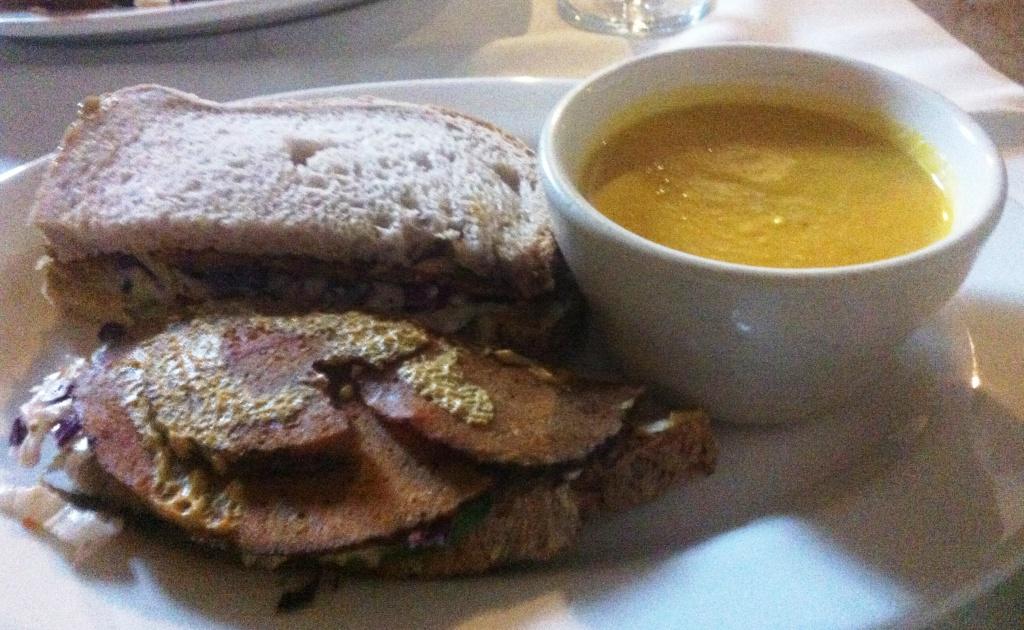 Adama 'Pastrami' Sandwich