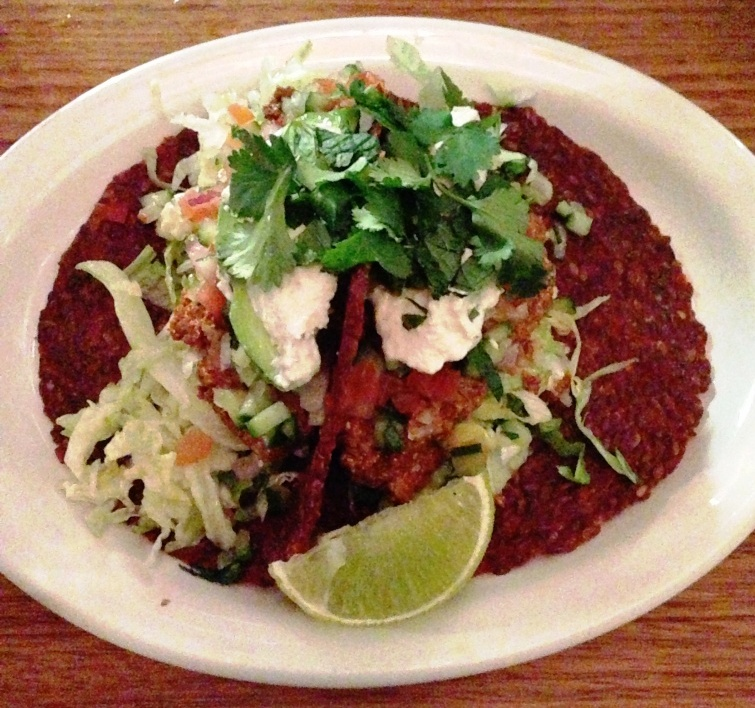 Vegie Bar Raw Taco