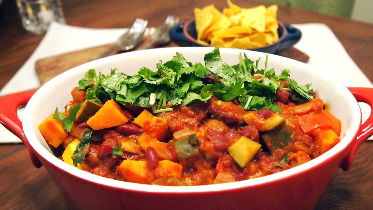 Mexi Bean & Veg Chilli