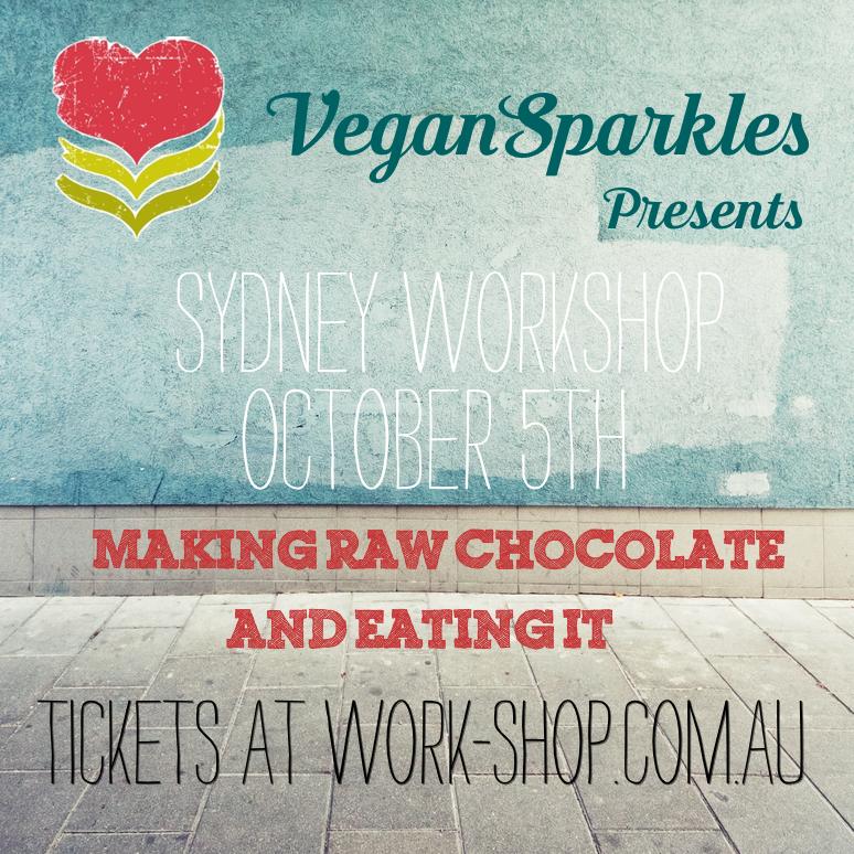 Vegan Sparkles Sydney Work-Shop