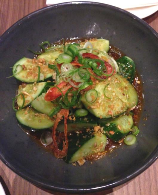 Asian Cucumber Salad Musashi