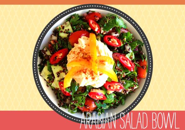 Arabian Salad Bowl - Eating for Energy