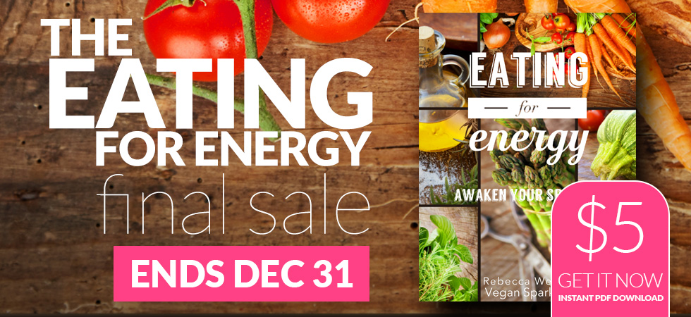 Eating for Energy FINAL SALE