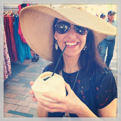 Coconuts & Sunshine Bex Rebecca Weller avatar