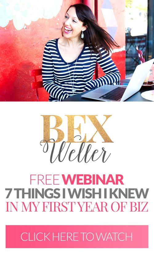 Bex Weller Biz Webinar