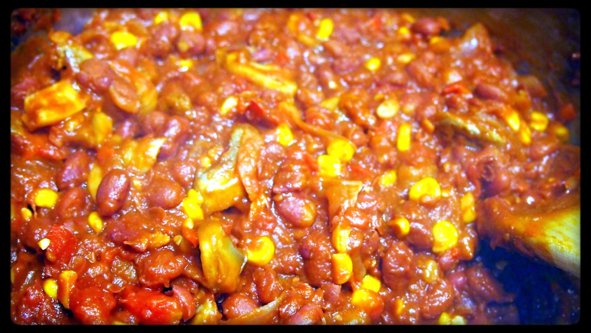 Spicy Bean Chilli