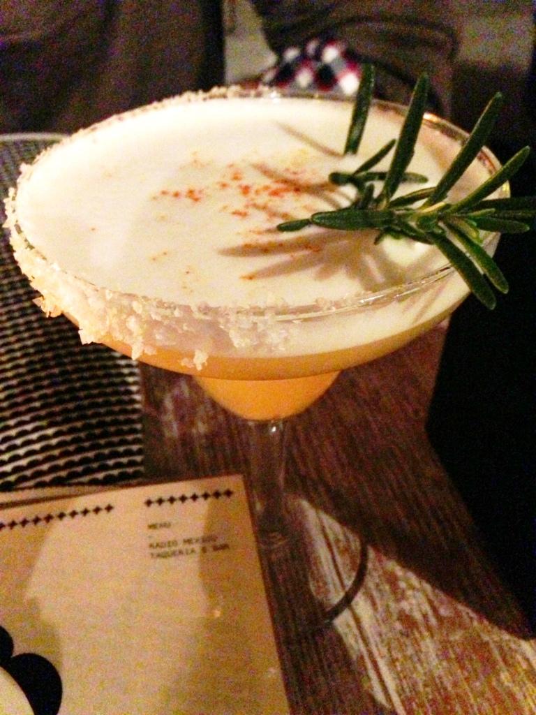 Radio Mexico cocktail